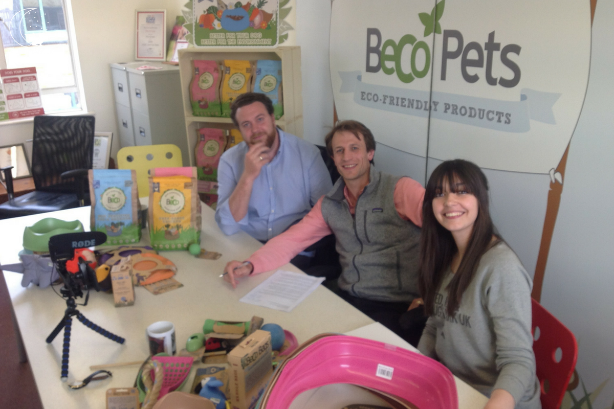 Beco Pets with Founders George Bramble & Toby Massey